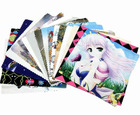 Digital Sublimation Print Microfiber Eye Glass Cleaning Cloth