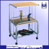 Simple wooden TV/DVD Swivel Stand MGR-9706