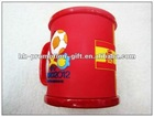 HOT 2012 Europe 3D soft PVC mug