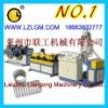PE/PVC single wall corrugated pipe production line