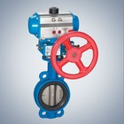 pneumatic butterfly valve with actuator