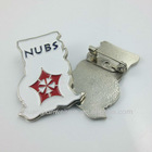 B498 custom soft enamel pin badge
