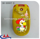 plastic musical fold phone toys for baby