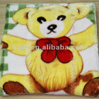double super soft Raschel blankets child blanket thickened cartoon baby blanket Bao Baotan nap blanket