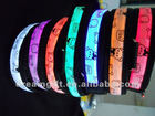 Glow in the night flashing Led dog Collar 4 size cheap price