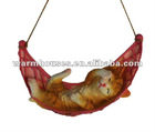 resin cat statue home decoration