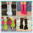hot pink lace leggings, mix any sizes and colors in stock ,ruffles Christmas lace legging warmers
