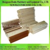 Screen printing squeegee with wooden handle
