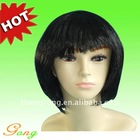 Super Pretty Stylish Bingle human short hair wig