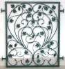 outdoor iron garden fence