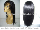 Full Handing-Knotting lace wig straight