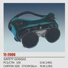 black welding goggles