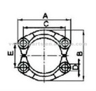 SAE SPLIT FLANGE CLAMPS 3000 PSI(FL),ISO 6162-SAE J518