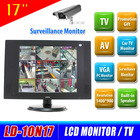 Reliable supplier of 17 inch cctv lcd monitor with av input
