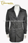 poly faille Mens business Long Coat for winter