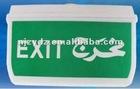 LED emergency exit light IP65