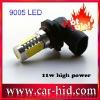High-tech 11W 9005 High Power Auto LED lights Usd for Car Fog lamp