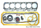 hino W06D 04010-0254 diesel engine full set gasket