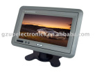 7inch car headrest/stand TFT LCD monitor