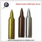 Metal bullets thumbdrive USB flash memory drive disk