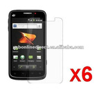 6X Clear LCD Screen Protector Cover for ZTE Warp N860 Phone