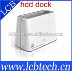 USB 3.0 SATA HDD Hard Drive Disk Docking U3 white