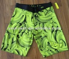 MEN'S POLY/SPANDEX SUBLIMATION PRINT BEACH SHORT