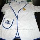 100% cotton cheap hotel fashion bathrobe