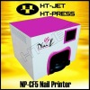 Digital nail printer
