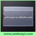9.4 * 6cm clear rigid pvc card holder