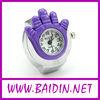 2013 cheap new design women finger ring watch wholesale