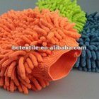 microfiber chenille cleaning glove for home