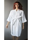 Women's Velour Bathrobe