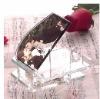 Romantic acrylic photo frame for wedding gift