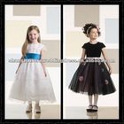 2012 Hot Sell Lovely High Quality Organza Flower Girl Dresses FL-005