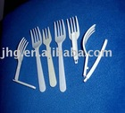 disposable plastic fork with food grade