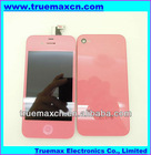for iPhone 4 Pink LCD Assembly + Back Glass