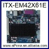 Intel ATOM D425 based Industrial Mini ITX motherboard for ATM, Kiosk, Digital Signage and Living Room PC