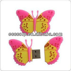 Hot sales butterfly usb flash drive 64GB