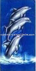 dolphin stock towel