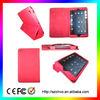 for ipad mini satin leather , newest stand design cover case for ipad mini