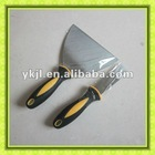 50# carbon steel blade and plastic handle scrapper