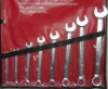 8pcs Mirror finished combination spanner set