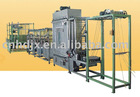 polyester high speed continuous ribbons dyeing machine