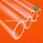 CE quality clear quartz tube quartz glass tube JINYU