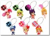 plastic products-lovely keychain