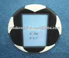 PU Leather Gift Decorations Round Picture Frame Photo Frame