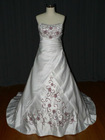 classical bridal wedding dress cls-002