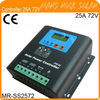 25A 72/96/110V PWM Solar Controller with LED Display