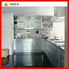 CNC machining stainless steel kitchen model cabinet